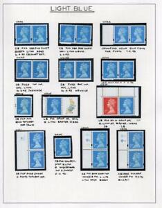 SPECIALISED COLLECTION OF UNMOUNTED MINT 2nd & 1st NVI MACHINS