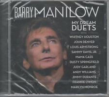 Barry Manilow My Dream Duets CD NEU Withney Houston John Denver Judy Garland