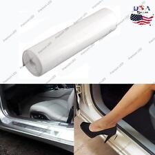 "8""*80"" Clear Vinyl Car Door Sill Edge Paint Anti-Scratch Protection Film Sticker"