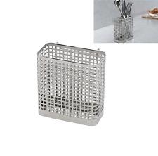 Stainless Steel Square Spoon Knife Fork Sink Drying Rack Stand Hanger Holder