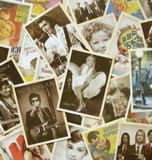 Hollywood Movie Poster Actress Actor Music Pic Postcard Set 32 PCS Cards LOT