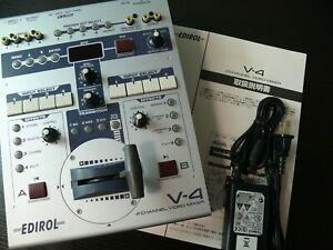 Edirol Roland V-4 4 ch Video Mixer Switcher VJ Controller Not Working Junk