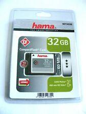 32GB Compact Flash Card ( 32 GB CF Karte ) Neu in OVP