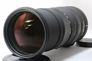 SIGMA APO 150-500mm F5-6.3 DG OS HSM AF for Canon [Exc w/Box,Hood [573]