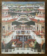 In Harem Garden Jigsaw Puzzle New Sealed Vintage 500 India Indian Art Faiz Allah