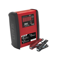 SPI1224S Sealey Intelligent Speed Charge Battery Charger 12V 15A/24V 10A