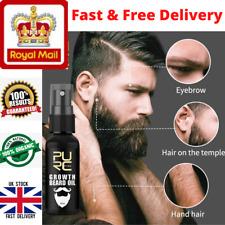 Premium Beard Oil Conditioning Growth Thicker Fuller Softer Beard 30ML Balm UK