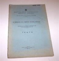 Ferrovie - Istruzioni sul doppio segnalamento - Testo - 1^ ed. 1937