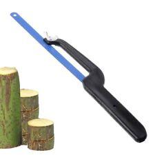 """10""""/12"""" X24T Teeth Hacksaw Handle Saw 50# Steel Metalworking Blades Metal Cut"""