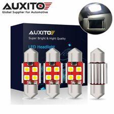 4x AUXITO 31mm DE3175 Festoon CANBUS LED Interior License Plate Door Light Bulb