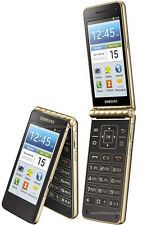 Samsung  Galaxy Golden GT-I9230 - Black - Gold - Smartphone hardly used