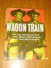 WAGON TRAIN A DAILY MIRROR BOOK WESTERN BRITISH ANNUAL 1959 VG <