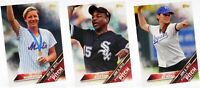 2016 Topps First Pitch Insert Set Singles MLB Baseball Trading Sports Cards