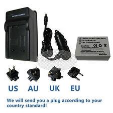 Battery+Charger For Canon Powershot SX40 Hs, SX50 Hs, G15, NB10L, NB-10L