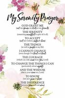 """NEW Dexsa My Serenity Prayer 6"""" x 9"""" Wood Plaque with Easel DX5045"""
