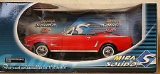 Mira Solido 1/18 8081 Ford Mustang Convertible 1964 1/2 red (15T)