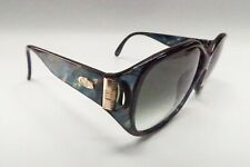 NICE! Vtg. Christian Dior 2497 50 Sunglasses 62[]13-125 Tortoise Turquoise A515
