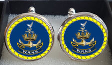WRNS Women's Royal Naval Service Cufflinks - A Great Gift