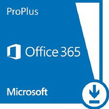 Microsoft Office 365 Pro Plus - Subscription 1 Year - 5 Devices PC/MAC