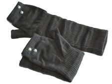 Fingerlose Handschuhe Nieten Grau Metall Damen Stuplen Boho Pulswärmer