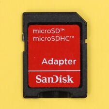Genuine SanDisk Micro SD SDHC (MicroSD) to SD Memory Card Adapter