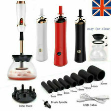 Electric Make Up Brush Cleaner Dryer Set Cosmetic Auto Clean Dry Washing Tool UK