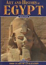 EGYPT Art & History ENGLISH EDITION 5000 Years of Civilization Bonechi Book
