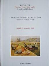 Catalogue de vente : Tableau peinture moderne - Sud-Ouest - Toulouse