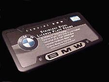 Genuine BMW License Plate Frame (Black Frame/BMW Name)
