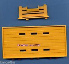 Playmobil-Rückwand,Futtertrog--Ersatzteile--Aus Set 3120-Reiterhof--Ponyhof