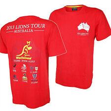 British & Irish Lions RED Youth Tour Tee - 14 Years BNWT