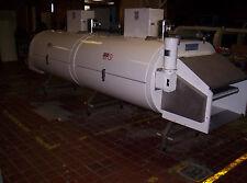 Used Cardox Cryogenic Freezer, Nitrogen Freezer Tunnel Freezer 2 Module 1 Tier