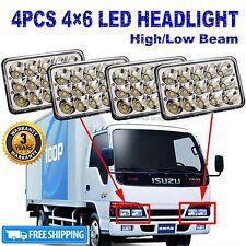 4xCREE LED Headlight Sealed Bulbs For ISUZU NPR-HD NQR NPR GMC Chevy W4500 W5500