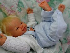 "Reborn baby toddler boy Kenzie 26""  11lb. Faber JosyNN Josy Newborn Nursery"