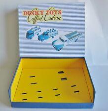 DINKY TOYS COFFRET CADEAU  VIDE  POUR 3 CAMIONS LAITIERS