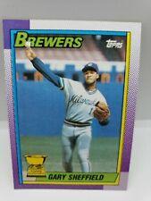 Gary Sheffield 1990 Topps All-Star Rookie #718 Milwaukee Brewers