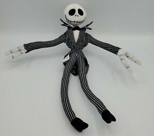"Disney Park Nightmare Before Christmas Jack Skellington 13"" Wired Poseable Doll"