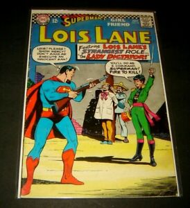 Superman's Girlfriend Lois Lane #75  Nice Silver Age DC Comic