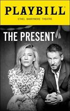 Cate Blanchett  Richard Roxburgh Playbill The Present Andrew Upton Braodway 2016