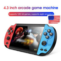 8GB 4.3'' Retro Handheld Game Console Portable Video Game Built-In 10000 Games