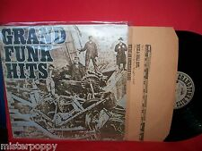 GRAND FUNK Hits LP ITALY 1976 First Pressing + Inner EX