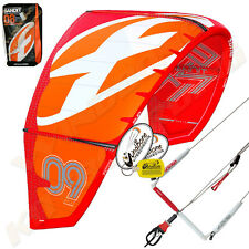 New 2015 Fone Bandit 11M Kiteboarding Kitesurfing Kite Complete F-One B8 Red/Org