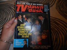 Vintage March 1973 TV Dawn To Dusk Magazine