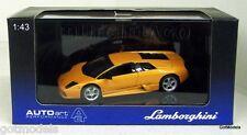 AUTOART 1/43 - 54512 LAMBORGHINI MURCIELAGO METALLIC ORANGE - DIECAST MODEL CAR