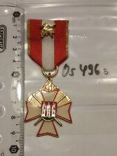 H527 Orden Feuerwehr Brandenburg Kreuz für Hervorragende Leistungen golden