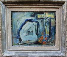 John Börén 1903-1983, Demut , Gouache, um 1940