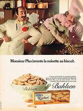 PUBLICITE ADVERTISING 104  1981  BALHSEN  les biscuits KIPFERL