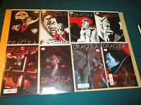 Dracula #1-4 & Stoker's Dracula #1-4 Very High Grade Marvel Lot Run 8 comics
