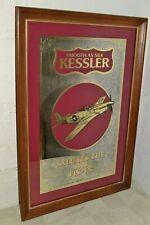 Vintage 1988 Kessler Eaa Oshkosh Fly-In Bar Mirror Aviation Decor 1St In Series