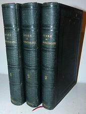 Versi Teatro Narrativa - Opere di G.B. Niccolini 1847 in 3 volumi con una tavola